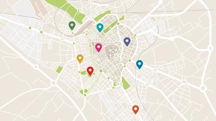 Mapa dels centres cívics